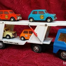 Brinquedos antigos Gozán: CAMIÓN + MINIS GOZAN.. Lote 265157044