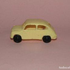 Brinquedos antigos Gozán: ANTIGUO SEAT 600 DEL CAMIÓN PEGASO DE JUGUETES GOZAN. Lote 266902999