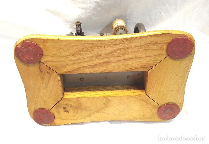 Juguetes antiguos Gozán: Maquina de Coser Gozan Mod 225, funciona - Foto 6 - 277050298