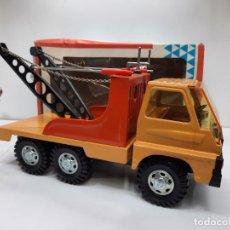 Brinquedos antigos Gozán: GOZAN CAMION SERIE TIGRE REF 324 GRUA EN CAJA!. Lote 284536158