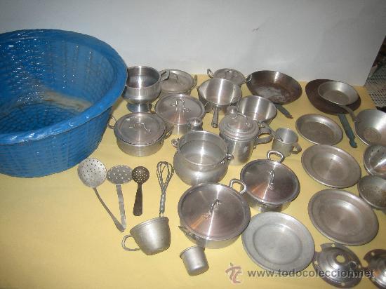 Gran lote de utensilios de juguete de cocina en comprar for Utensilios antiguos de cocina
