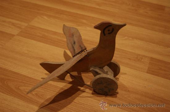 Antiguo juguete de madera artesanal de a os 30 comprar - Juguetes antiguos de madera ...