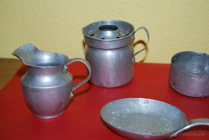 Utensilios de cocina de juguete sart n cazu comprar for Utensilios antiguos de cocina