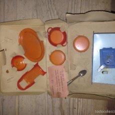 Juguetes antiguos de hojalata: CAJA PAYA CACHARROS 1945-55. Lote 54682987