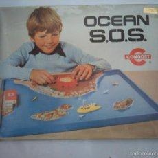 Juguetes antiguos de hojalata: ( 2 X 1 ) OCEAN S.O.S. -OCEAN SOS- CONGOST- JUEGO RESCATE-FUNCIONAMIENTO GARANTIZADO. Lote 58134834