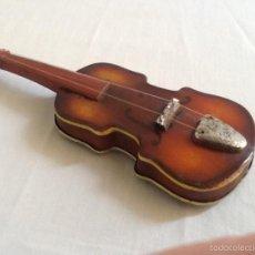 Juguetes antiguos de hojalata: VIOLÍN DE HOJALATA. . Lote 58453744