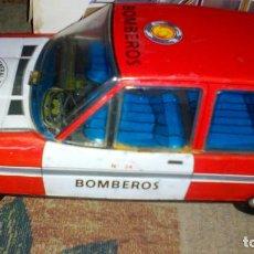 Juguetes antiguos de hojalata: COCHE PAYA BOMBEROS FORD FIESTA . Lote 62529188