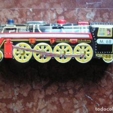 Juguetes antiguos de hojalata: TREN DE HOJALATA 39CMX12CMX9CM. Lote 76534743