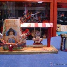 Juguetes antiguos de hojalata: COLUMPIO.VER FOTOS. Lote 40309505