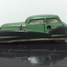 Juguetes antiguos de hojalata: AUTO RADAR 2003 JOUSTRA A CUERDA. Lote 53496674