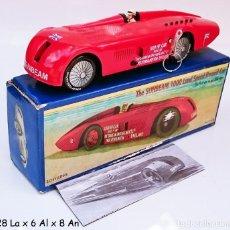 Juguetes antiguos de hojalata: SCHYLLING SUNBEAM 1000 LAND SPEED RECORD CAR. Lote 93185180