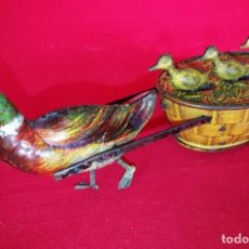 Juguetes antiguos de hojalata: QUACK QUACK LEHMANN. Lote 109465703