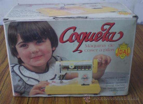 MAQUINA DE COSER COQUETA (Juguetes - Marcas Clásicas - Joal)