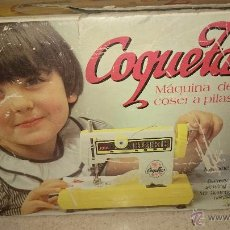 Juguetes antiguos Joal: MAQUINA DE COSER COQUETA AÑOS 80, EN SU CAJA. Lote 50700339