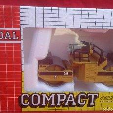 Juguetes antiguos Joal: JOAL CB534 RULO VIBRADOR COMPACTADORA. Lote 165678269