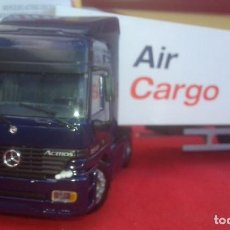 Juguetes antiguos Joal: CAMION MERCEDES ACTROS C/ TRAILER 360. Lote 173017439