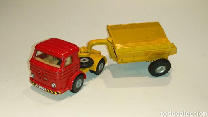 Juguetes antiguos Joal: Camión Pegaso volquete de Joal ref. 212 - Foto 2 - 68998205