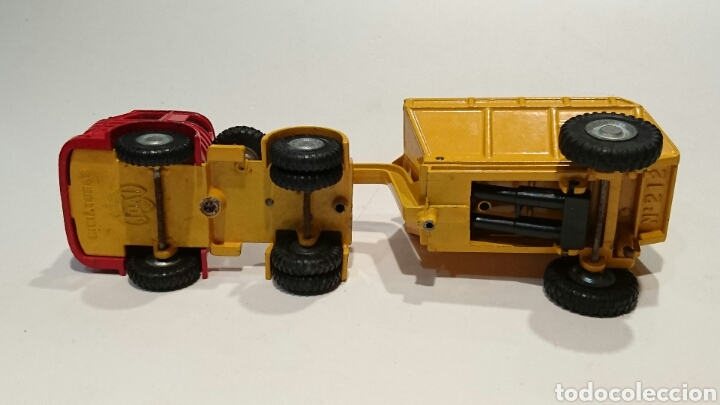 Juguetes antiguos Joal: Camión Pegaso volquete de Joal ref. 212 - Foto 3 - 68998205