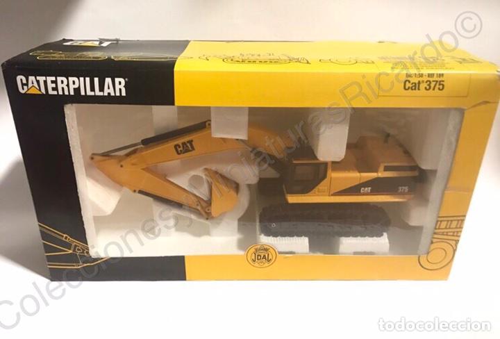 Juguetes antiguos Joal: Excavadora Giratoria Caterpillar / Cat 375 - Joal 189 - Foto 2 - 90101295