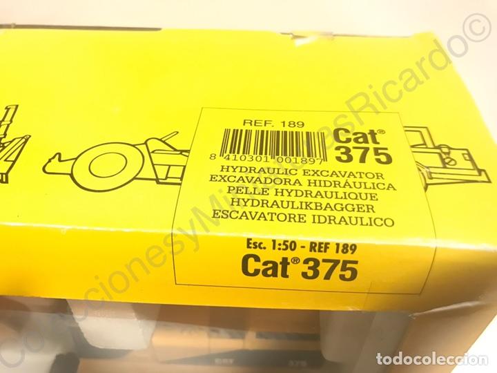 Juguetes antiguos Joal: Excavadora Giratoria Caterpillar / Cat 375 - Joal 189 - Foto 3 - 90101295