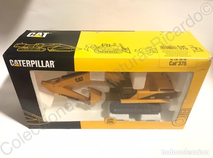 Juguetes antiguos Joal: Excavadora Giratoria Caterpillar / Cat 375 - Joal 189 - Foto 4 - 90101295