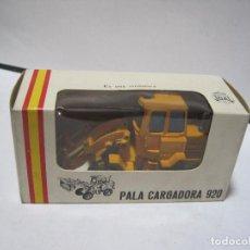 Juguetes antiguos Joal: PALA CARGADORA CARTEPILLAR 920 REF 214 JOAL. Lote 115538299