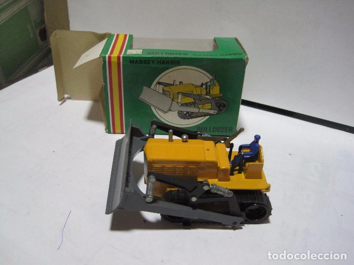 Juguetes antiguos Joal: BULLDOZER MASCLY-HARRIS REF 210 JOAL - Foto 2 - 199243236