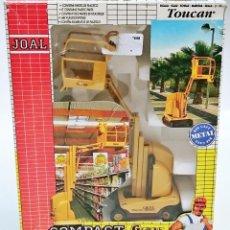 Juguetes antiguos Joal: JOAL COMPACT TOUCAR CESTA ELEVADORA. Lote 55939265