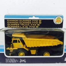 Juguetes antiguos Joal: CAMION DUMPER 773?B? REF 223 DE JOAL EN CAJA ORIGINAL NUEVO. Lote 95565902