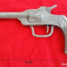 Pistola O Revólver Joal. Metal. 15 cm