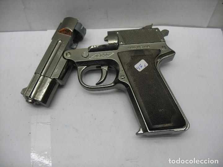 Juguetes antiguos Joal: JOAL - Pistola de juguete fabricada en España de metal - Foto 2 - 120295855