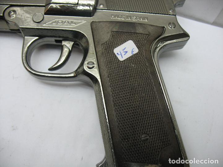 Juguetes antiguos Joal: JOAL - Pistola de juguete fabricada en España de metal - Foto 5 - 120295855