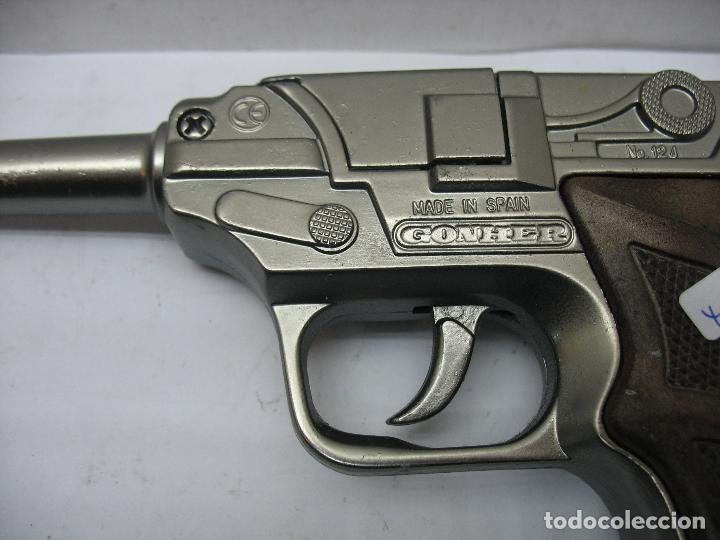 Juguetes antiguos Joal: GONHER - Pistola de juguete fabricada en España - Foto 3 - 120296355