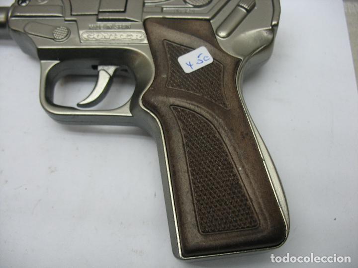 Juguetes antiguos Joal: GONHER - Pistola de juguete fabricada en España - Foto 4 - 120296355