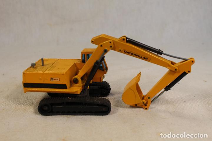 Juguetes antiguos Joal: Excavadora Giratoria Caterpillar 225 - JOAL 216 - 1:50 - Foto 6 - 142019078
