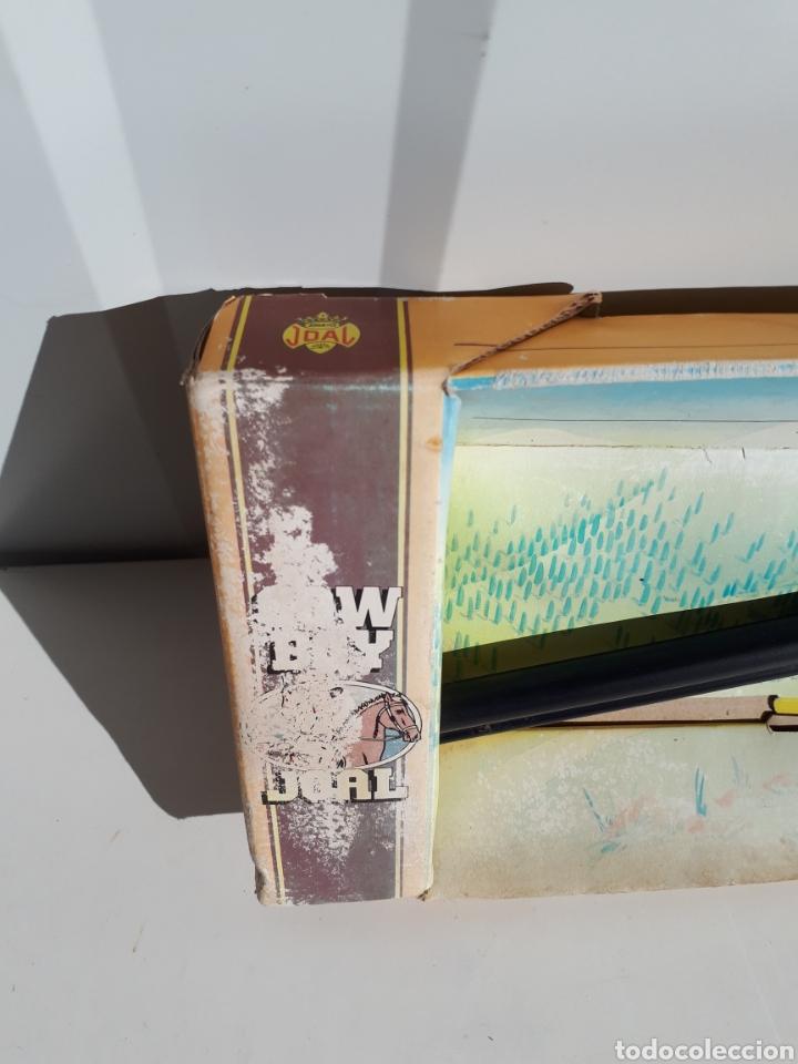 Juguetes antiguos Joal: Antiguo rifle de pistones EL CIMARRON DE JOAL nuevo - Foto 3 - 143784501