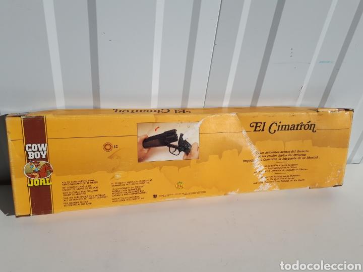 Juguetes antiguos Joal: Antiguo rifle de pistones EL CIMARRON DE JOAL nuevo - Foto 4 - 143784501