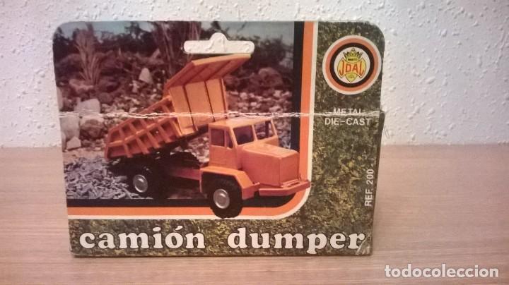 Juguetes antiguos Joal: Joal camion dumper - Foto 3 - 155330950