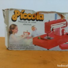 Juguetes antiguos Joal: MAQUINA DE COSER DE JUEGUETE. JOAL PICCOLA 2000. FUNCIONANDO. Lote 162201118