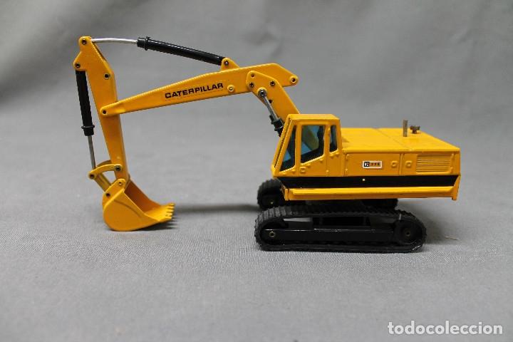 Juguetes antiguos Joal: Excavadora giratoria Caterpillar 225 nº216 Joal - Foto 3 - 173094142