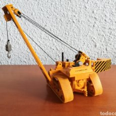 Juguetes antiguos Joal: GRUA TIENDETUBOS MINIATURAS JOAL NÚM. 224 CATERPILLAR - MADE IN SPAIN. Lote 178114468
