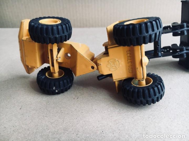 Juguetes antiguos Joal: Tractor eXCAVADORA JOAL escala 1:50 amarillo - VOLVO BM L160 - Completo sin Caja - Foto 6 - 179049055