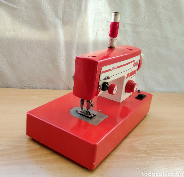 Juguetes antiguos Joal: Máquina coser JOAL - Foto 2 - 184344465