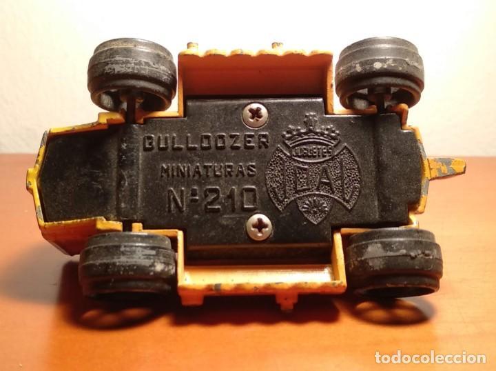 Juguetes antiguos Joal: ANTIGUO BULLDOZER - REF 210 - MINIATUARAS - JUGUETES JOAL - VER TODAS LAS FOTOS - Foto 5 - 193448945