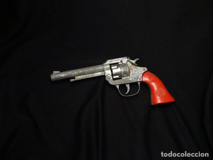 Juguetes antiguos Joal: pistola JOAL, modelo primero RARO de pistones - Foto 2 - 193881748