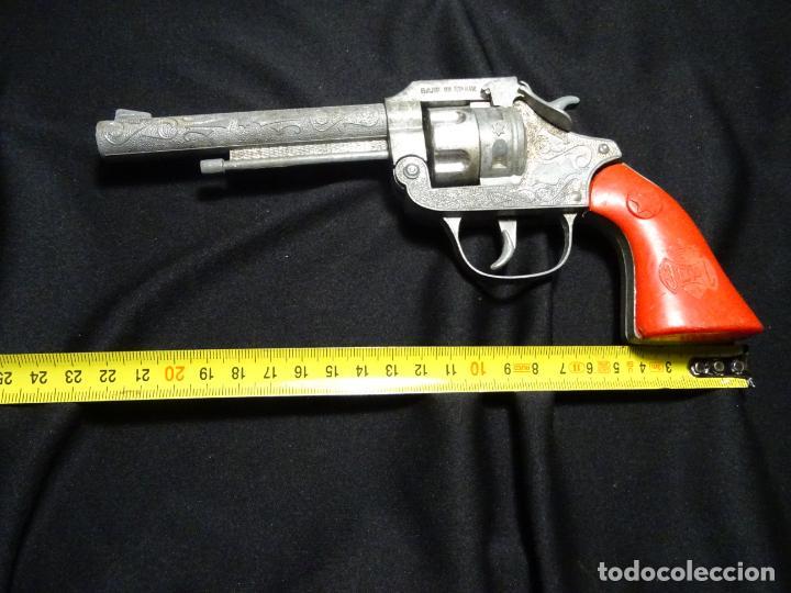 Juguetes antiguos Joal: pistola JOAL, modelo primero RARO de pistones - Foto 4 - 193881748