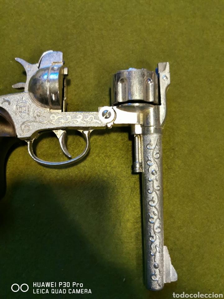 Juguetes antiguos Joal: Revolver de petardos joal - Foto 3 - 196101883