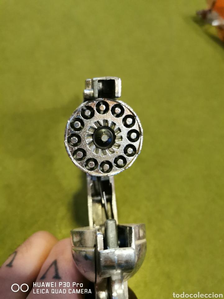Juguetes antiguos Joal: Revolver de petardos joal - Foto 4 - 196101883