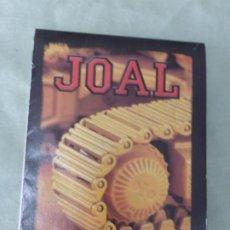 Juguetes antiguos Joal: CATALOGO JOAL DEL AÑO 2000. BUEN ESTADO. Lote 198044085