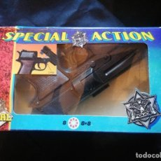 Juguetes antiguos Joal: PISTOLA SPECIAL ACTION. Lote 204433897